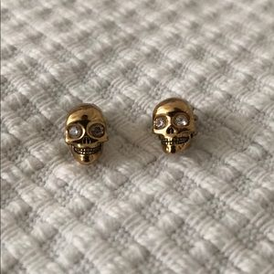 Juicy Couture Skull Earrings
